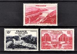FRANCE 1948 - LOT 3 TP NEUF**  / Y.T. N° 817 / 818 / 819  - - Neufs