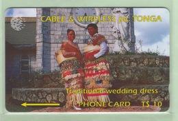 Tonga - 1994 First Issue - $10 Wedding Dress - TON-2 - VFU - Tonga