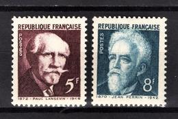 FRANCE 1948 - SERIE  Y.T. N° 820 ET 821  - 2 TP NEUFS** - Neufs