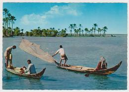 1377/ IRAQ / IRAK. Fishers. Pêcheurs. Pescadores. Pescatori. Fischer (1975).- Non écrite. Unused. Non Scritta. - Iraq