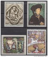 FRANCE 1969 -  SERIE Y.T. N° 1586 A 1588 - 4 TP NEUFS** - France