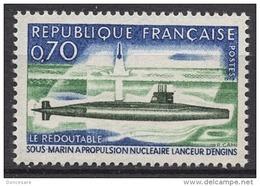 FRANCE 1969 - Y.T. N° 1615  - NEUF** - France