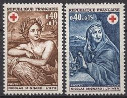 FRANCE 1969 -  SERIE Y.T. N° 1619 ET 1620 - 2 TP NEUFS** - France