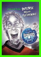 PUBLICITÉ, ADVERTISING - ICE BREAKERS MINTS - INTENSE MOUTH FRESHENNING - GO-CARD 2000 - - Publicité