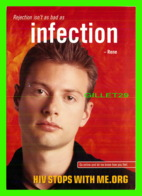PUBLICITÉ, ADVERTISING - REJECTION ISN'T AS BAD AS INFECTION, RENE 2001 - GO-CARD - - Publicité