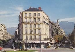 38 Grenoble Place De La Gare Avec Citroën DS (2 Scans) - Grenoble