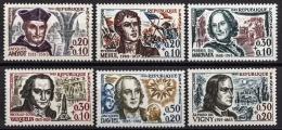 FRANCE 1963 -  SERIE Y.T. N° 1370 A 1375  - 6 TP NEUFS** - France
