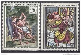 FRANCE 1963 -  SERIE Y.T. N° 1376 / 1377 - 2 TP NEUFS** - France