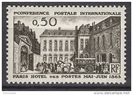 FRANCE 1963 -  Y.T. N° 1387  - NEUF** - France