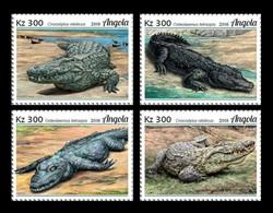 Angola 2018 Mih. 1941/44 Fauna. Crocodiles MNH ** - Angola