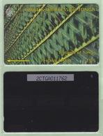 """Tonga - 1995 Second Issue - Textures - $5 Green  - TON-4 - """"2CTGA"""" - VFU - Tonga"""