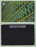 """Tonga - 1995 Second Issue - Textures - $5 Green  - TON-4a - """"129CTGA"""" - VFU - Tonga"""