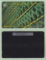 """Tonga - 1995 Second Issue - Textures - $5 Green  - TON-4b - """"185CTGA"""" - VFU - Tonga"""