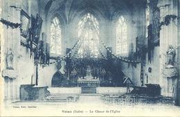 36  VATAN - LE COEUR DE L' EGLISE (ref 5203) - France