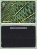 """Tonga - 1995 Second Issue - Textures - $5 Green  - TON-4c - """"261CTGA"""" - VFU - Tonga"""