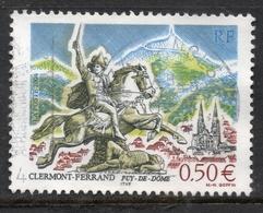 2004 Clermont-Ferrand Puy-de-Dôme, Valeur Faciale : 0,50 € Timbre Oblitéré. - France
