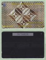 """Tonga - 1995 Second Issue - Textures - $$10 White & Brown  - TON-5b - """"154CTGB"""" - VFU - Tonga"""