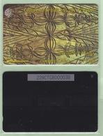 "Tonga - 1995 Second Issue - Textures - $20 Brown  - TON-6b - ""228CTGC"" - VFU - Tonga"