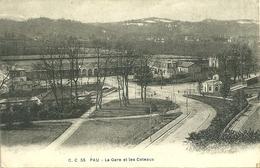 64  PAU - LA GARE ET LES COTEAUX (ref 5246) - Pau