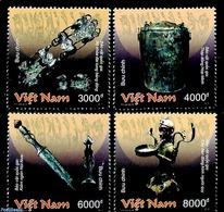 Vietnam 2018 Bronze Treasures 4v, (Mint NH), Art & Antique Objects - Viêt-Nam