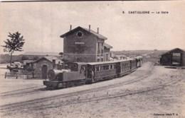 Algerie -  CASTIGLIONE -  La Gare - Autres Villes