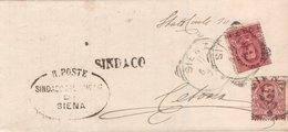 Intero Postale 1900 Cetona Perfetto - 1878-00 Umberto I