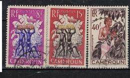 CAMEROUN             N°  YVERT     297/299    (1)      OBLITERE       ( O   3/07  ) - Cameroun (1915-1959)