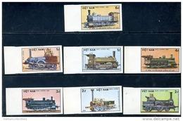 Vietnam Viet Nam MNH Imperf Stamps 1985 : 150th Anniversary Of German Railway (Ms475) - Viêt-Nam