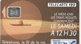 TELECARTE 120......TELEPHONE,LE FIL DE LA VIE.. - France