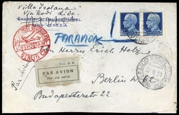 1929, Italien, 309 (2), Brief - Italy