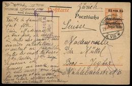 1918, Polen, P 1 I, Brief - Polen