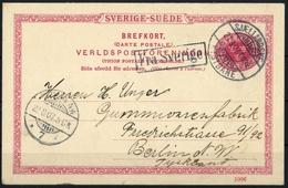 1904, Schweden, P 25-1006, Brief - Schweden