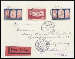 1930, Frankreich, 247 (2), 251, Brief - France