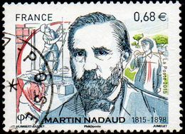 Oblitération Cachet à Date Sur Timbre De France N° 4968 - Martin Nadaud - France