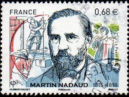 France Oblitération Cachet à Date N° 4968 - Martin Nadaud - Used Stamps