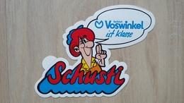 Aufkleber Mit Werbung Für Einen Schuhladen In Bochum (VOSWINKEL) - Autocollants