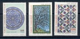 Turkey 1966 Ceramic Tiles MUH - 1921-... Republic