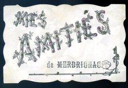Cpa Du 22  De Merdrignac Mes Amitiés   ACH7 - France