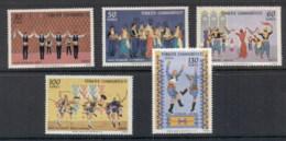 Turkey 1969 Folk Dances MUH - 1921-... Republic