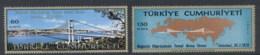 Turkey 1970 Bridge Across The Bosphorus Foundation Ceremony MUH - Unused Stamps