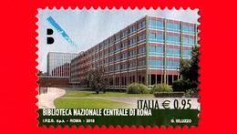 ITALIA - Usato - 2015 - Eccellenze Del Sapere - Biblioteca Centrale Di Roma - 0,95 - 6. 1946-.. Repubblica