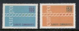 Turkey 1971 Europa MUH - Unused Stamps