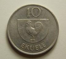 Equatorial Guinea 10 Ekuele 1975 - Guinée Equatoriale