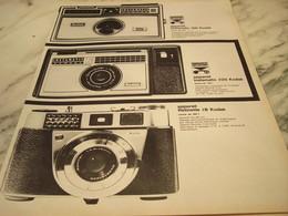 ANCIENNE PUBLICITE KODAK INSTAMATIC 1965 - Photographie