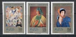 Turkey 1972 Regional Cooperation Development, Paintings MUH - Unused Stamps