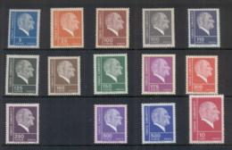 Turkey 1972-76 Kemal Ataturk (14/15, No 400k ('76)) MUH - 1921-... Republic
