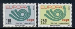 Turkey 1973 Europa Muh - 1921-... Republic