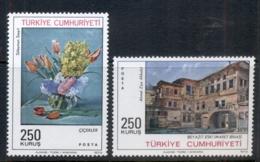 Turkey 1973 Paintings MUH - Unused Stamps