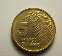 Guinea 5 Francs 1985 - Guinée