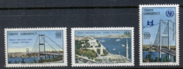 Turkey 1973 Bosphorus Bridge MUH - Unused Stamps